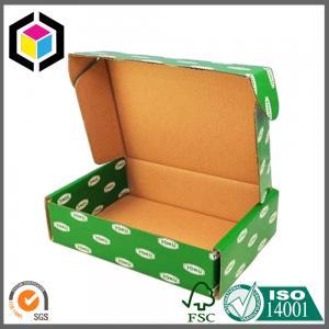 Quality Green Color CMYK Design Artwork Printed Paper Corrugated Cardboard Packaging Box for sale