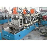 Quality Galvainzed Steel Cable Tray Roll Forming Machine , Cr12 Roller Roll Forming Equipment for sale