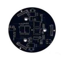 Quality Rigid Single side pcb board 1 oz Copper , Min. Line 0.1mm , White Silkscreem for sale