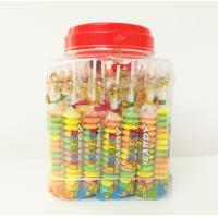 Quality Multi Fruit Flavor Baby Compressed Candy Brochette In Plastic Jars Taste Sweet And Sour for sale