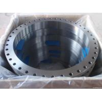 Quality ASTM A105 Carbon Steel Forged Flange CE BV SGS , UNI JIS BS Flange For Pipe Fittings for sale