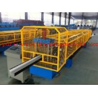 Quality High Strength Gutter Cold Roll Forming Line Seamless Gutter Machine , Downspout Machine for sale