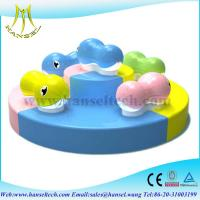 Quality Hansel hot selling children indoor playarea small indoor playground soft for sale