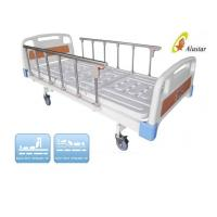 Quality 2 Crank Adjustable Abs Bed Surface Medical Hospital Beds with Lock ALS-M208 for sale