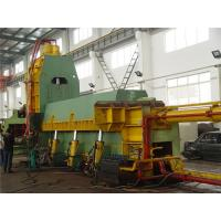 Quality Metal Shearing Equipment / Scrap Baler Machine For Pre - Compressing And Cutting Waste for sale