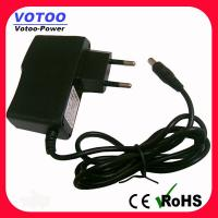 Quality 12V 1.5A AC / DC LED Drive Wall Mount Power Adapter 18W Power Supply for sale