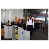 Buy cheap 2m-4m Width Full Automatic Double Wire Chain Link Fence Making Machine for kenya market from wholesalers