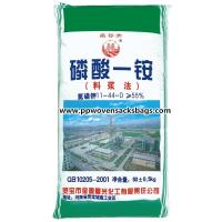 Quality Customized Printed PP Woven Fertilizer Packaging Bags for Packing Monoammonium for sale
