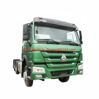 China Euro 2 Sinotruk Howo 6x4 Tractor Head Prime Mover Truck on sale