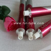 Quality Empty cosmetic aluminum tube for hair dyeing cream for sale