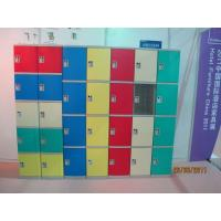 Quality Strong Plastic Gym Lockers 8 Comparts 1 Column Swimming Pool Lockers for sale