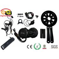 Quality 750W Bafang Mid Crank Electric Bicycle Motor Kit With Hailong Type Battery for sale