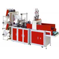 Quality 4 Line Plastic Bag Making Machine , LDPE HDPE Plastic Bag Cutting And Sealing Machine for sale