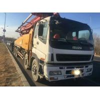 Quality 2010 YEAR Second Hand Pump Truck ISUZU-SANY Brand 8×4 Drive Mode With 48m Pump for sale