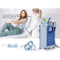 Quality Cellulite Reduction Cryolipolysis Machine 4 Handpiece Fat Freezing Machine for sale