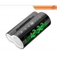 Quality Radio control 24hr / 12hr natural sounds alarm Electronic Calendar Clock With LED Display for sale