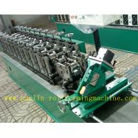 Quality Hollow Runner Metal Stud And Track Roll Forming Machine for T Guide Track Panasonic PLC Control Atos Valve for sale