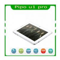China 7'' Pipo u1 pro RK3066 Dual core IPS screen Android 4.1 tablet pc with  dual camera on sale