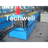 Quality Single Side Adjustable C Purlin Roll Form Machines With Manual / Hydraulic Decoiler for sale