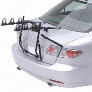 China 3-bike Trunk Mounted Bike Rack/Carrier on sale