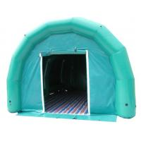 China green portable inflatable air tight PVC tent for event party advertising on sale