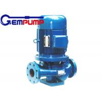 Quality IHG vertical pipe Inline Water Booster Pump , stainless steel centrifugal water pump for sale