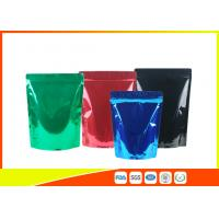 Quality Green Tea / Instant Coffee Packaging Bags , Coffee Pouch Bags Blue Green Black for sale