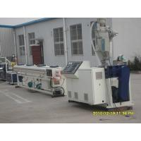 China PE PP Single - Wall Corrugated Pipe Extrusion Line , Corrugated Pipe Extruder on sale