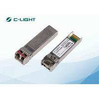 FTLX1571D3BCL Juniper Compatible 10G SFP+ 1550nm , 40km Single Ethernet SFP Module LC Connector for sale