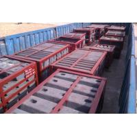 Quality Heat Resistant Pearlitic Cr-Mo Steel Steel Mill Liners HRC33-43 for sale