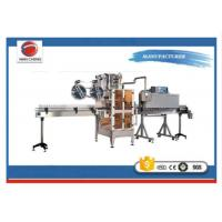 Quality Vial Sticker Labelling Machine ,  Square Shrink Sleeve Applicator Machine for sale