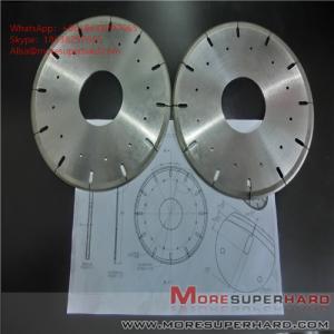 Quality Metal Bond Diamond Cutting Disc Glass Ceramics Tungsten Carbide Cut Off Wheels  ALisa@moresuperhard.com for sale