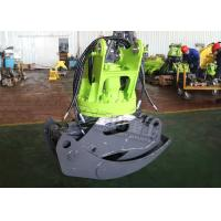 Buy cheap Sugarcane Hydraulic Log Grapple , Doosan DH60 Rotating Log Grapple For Excavator from wholesalers