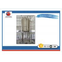 Quality Oil Stainless Steel Holding Tanks , Drinking Water Stainless Steel Fermentation Tanks for sale