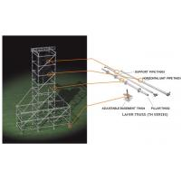 Buy Support  2.42 M Galvanized Steel Scaffolding Easy Erect / Dismantle For Building Construction at wholesale prices