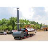 Quality Durable Gas Diesel Oil Fired Steam Boiler Q245R Steel Plate Material for sale