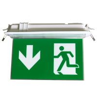 China 200LM Ceiling Recessed Indoor Led Battery Operated exit signs with emergency lighting on sale