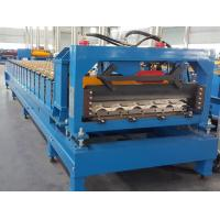 Quality CE Roof Panel Roll Forming Machinery 18 Stations 5 Tons De - Coiler Single Chains for sale