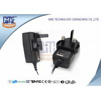 Quality UK Plug Power Adapter , Wall 12 Volt AC DC Adapter ABOUT175g Weight for sale