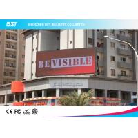 Quality IP65 outdoor P6 led display with highest birhgtness 1920hz refresh rate for shopping center for sale