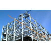 China Multiple Floor Prefabricated Steel Buildings EPC Project , Galvanized Surface Treatment on sale