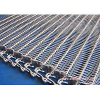 China Wire Mesh SS Belt Conveyors Oxidation Proof , Stainless Steel Conveyor Chain Belt Spiral Type on sale