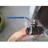 Full Port Carbon Steel 2 PC Ball Valve female thread NPT / BSPT / BSPP for sale
