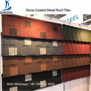 Kenya Decras Roofing - Stone Coated Steel Roof Shingles Tiles Price