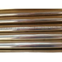 19.05 * 1.65mm Copper Alloy Tube Cold Drawn ASTM B111 C44300 C68700 for sale