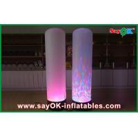 Quality Lighting Column Inflatable Lighting Decoration With LED Lighting for sale