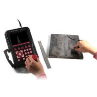 Quality Straight Beam Probe Ultrasonic Flaw Detector With Data Processing Software MFD550B for sale