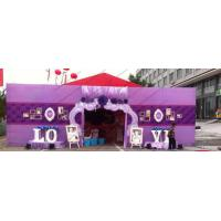 Glass Walls Beautiful Wedding Event Tents Hold 600 People Arch / Square Clear PVC Windows for sale