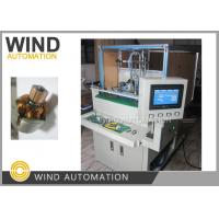 China Double Station Armature Electric Motor Winding Machine / Small Rotor Winder on sale