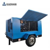 Quality 2017 Hot sales! Kaishan air compressor/Portable diesel screw air compressor/Energy efficient/ High quality air compresso for sale